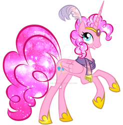 Princess Pinkie Pie by spock-sickle
