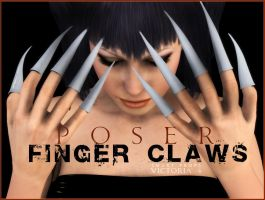 Finger Claws Smart Props V4 by inception8-Resource