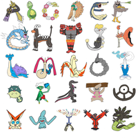 Pokemon themed Alphabet