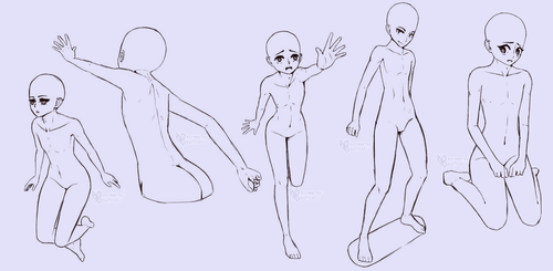 Reference Poses 1 by AsymmetricButterfly