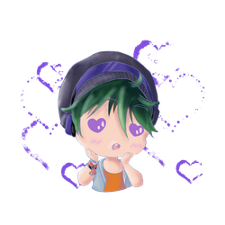 Chibi Phyxius Hearts Gif definitive version by AkiraPierrot