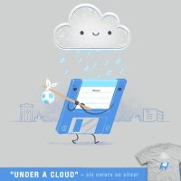 Under a cloud - tee by InfinityWave