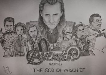 The Avengers by xGuppy
