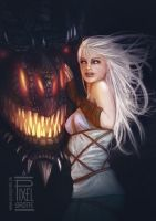 Daenerys Targaryen Fan-Art by FedeSchroe
