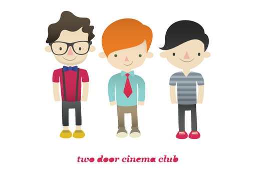 two door cinema club by viitormartins
