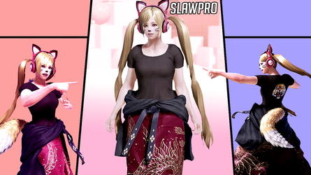 [TK7] Lucky Chloe's Geese1p Cosplay by SlawPro