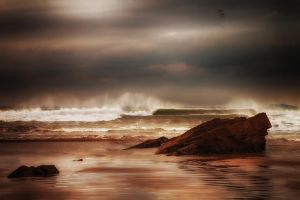 Early morning waves by CharmingPhotography