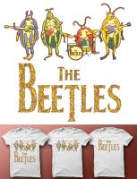 The Beetles by anggatantama