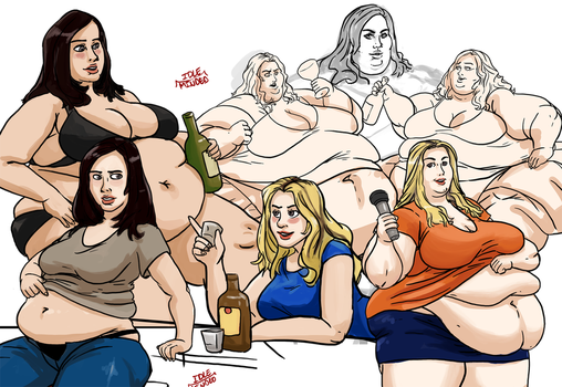 Jonesing for some fat art by Idle-Minded