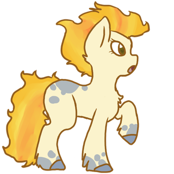 Fire Hooves by Aura-Silvier