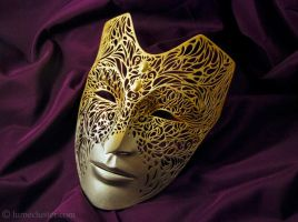 Empress Celene Mask (Dragon Age) 3D Printed by Lumecluster