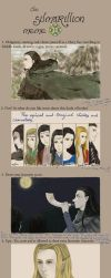 the silmarillion meme by lauovera