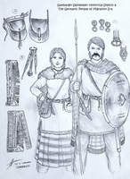 Germanic Men and Women of the Migration Era by Gambargin