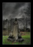 at the cemetary 02 by nostromo426