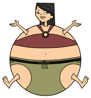 Heather's Big Ball Belly by TDGirlsFanForever