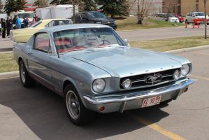 Silver Stang by KyleAndTheClassics