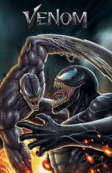 VENOM vs RIOT by DAVID-OCAMPO