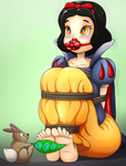 Snow White and the Seventythousand tickles by Ragadabah