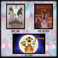 The Evolution of Bunnicula by Cookie-Lovey