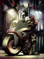 Dredd Color by Fpeniche