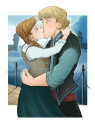Frozen - Kiss by Millster-Ink