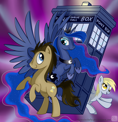 Doctor Hooves and Co. by SwanLullaby