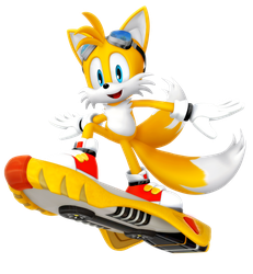 Tails: Riders Outfit render by Nibroc-Rock