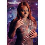 Chewbacca StarWars Inspired BodyPainting by VisualEyeCandy