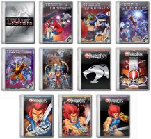 Transformers G1 and Thundercats Folder Icons by Josh-84