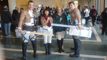 Survey Corps by meichwan