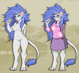 Blue Babe Lion (Collab Adopt) - OPEN by DrDadster