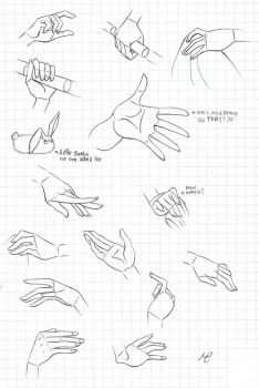 One Piece female hands study (2) by Fluffy-foxlady