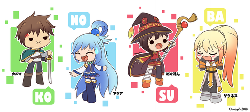 KONOSUBA~! by CloudyZu