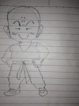 Krillin by TheSaiyanSketcher34