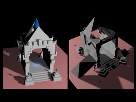 Structure 3D objects (2) by PhaethonGames
