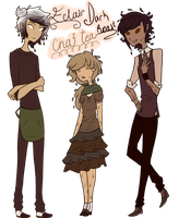 More Cafe Adoptables .: Adoptables Closed :. by MythsandMonsters