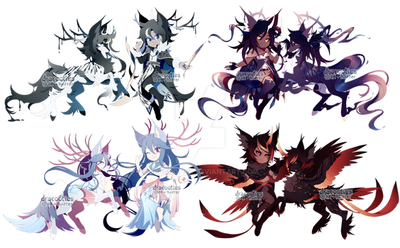 [Stygians] Order vs Chaos Guest Designs by dracooties