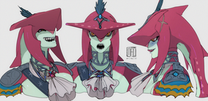 Prince Sidon Sketches by GhosteKey