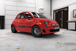Fiat 500 Abarth 3D by pierre-allard