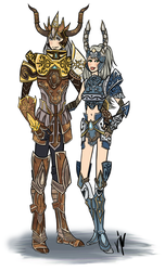 ARMOR WARRIORS by 24-crayons