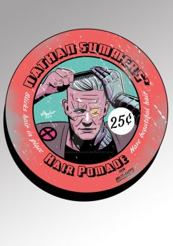 Hair pomade for mutants by AhmedRaafatArt