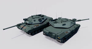 Typ 56/60 Main Battle Tank by TheoComm