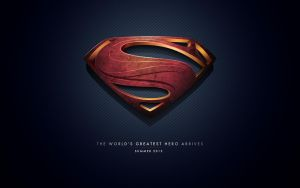 Man of Steel Desktop by Spacecowboytv