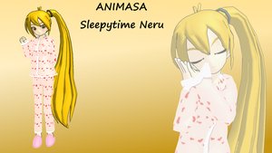Animasa Sleepytime Neru [DL] by Kokoro-Hane