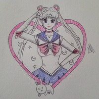 Manga March Madness: Sailor Moon 1/16 by vynnetia