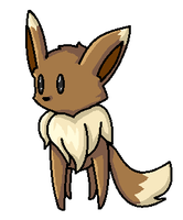 Eevee by fennecthefox15
