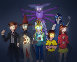 Bad end friends by Merudy
