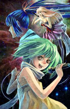 Macross Frontier by SheCow