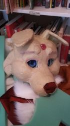 Fursuit so far! by FrostedCanid