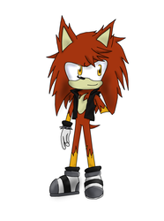 ///*unfinished*/// Flame the Hedgehog by Storming777